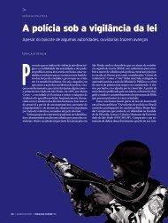 A polícia sob a vigilância da lei - Revista Pesquisa FAPESP