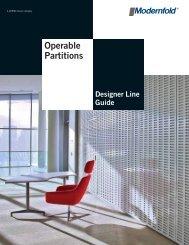 Operable Partitions - Modern Door & Equipment Sales, Inc.