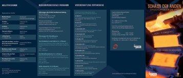 Wissenschaftliche Vortragsreihe Begleitprogramm ...