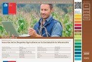 Inserción de los Pequeños Agricultores en la Sociedad de la ... - Fia