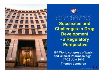 Successes and Challenges in Drug Development - WorldPharma ...