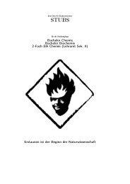 Bachelor Chemie Bachelor Biochemie 2-Fach BA Chemie (Lehramt ...