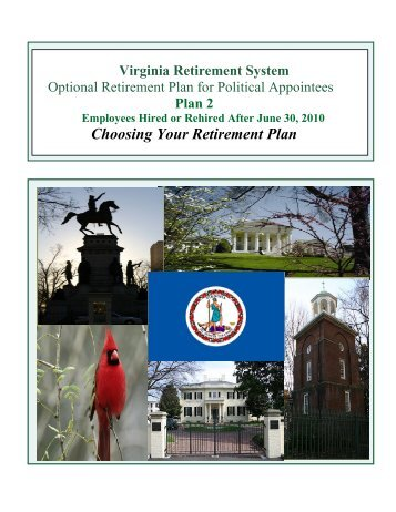 Choosing Your Retirement Plan - Virginia Retirement System