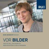 vor Bilder - Ruhr-Universität Bochum