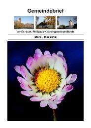 2-2012 - Philippus-Gemeinde