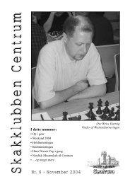 Klubblad nr. 6/2004 - Skakklubben Centrum