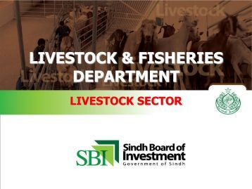 livestock & fisheries department - Sindh Board Of Investment ...