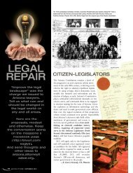 Legal Repair: The Ideas Issue