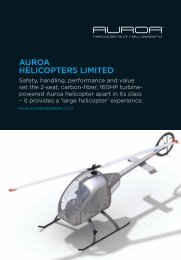 AUROA HELICOPTERS LIMITED - Aviation NZ