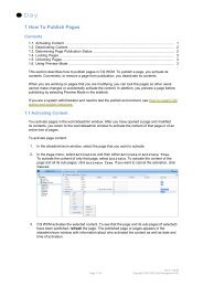 1 How To Publish Pages - Day