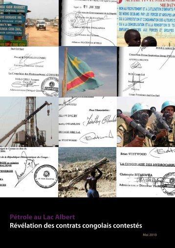 Pétrole au Lac Albert Révélation des contrats congolais ... - capac