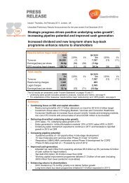 Q42010 Full Year results Announcement