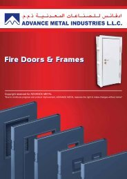 Fire Doors & Frames - Airmaster Equipments Emirates