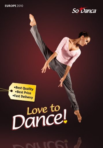So Danca Love To Dance Catalog - Rumpf Handels GmbH