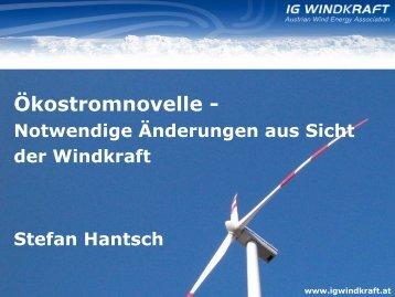 Wachstum der Windkraft in Europa