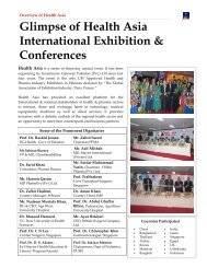 Glimpse of Health Asia International Exhibition & Conferences