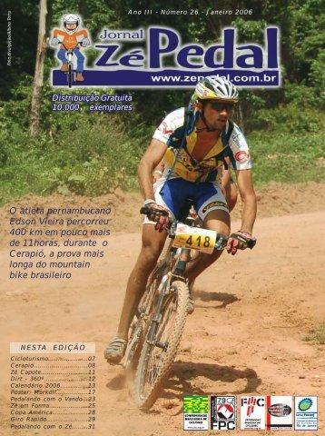 Zé Pedal - CALANGO BIKERS