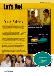 World YWCA P2C Update - June -2010.pdf - Horyzon