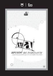 Apunte del Ingresante a la FAU - Facultad de Arquitectura y ...
