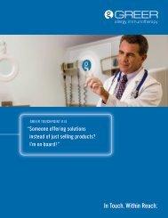 GREER® Capabilities Brochure
