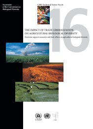 The Impact of Trade Liberalization on Agricultural Biological