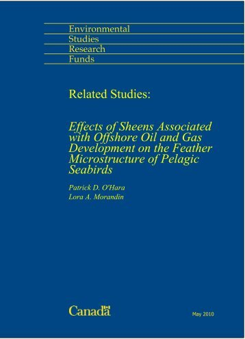 Effects of Sheens Associated with Offshore Oil and Gas ...
