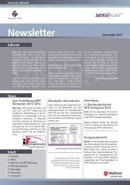 Newsletter 12/2011 - Arbeitsgruppe NFP