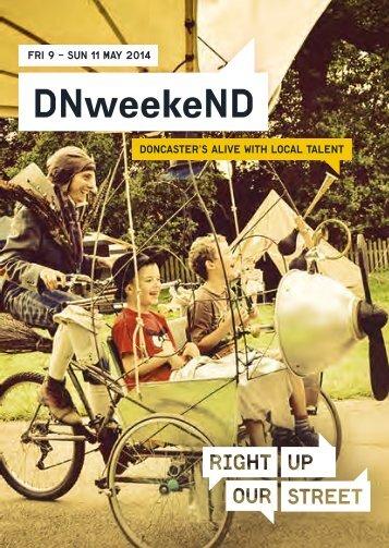DNweekeND 2014 full programme