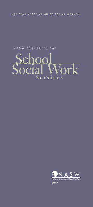 NASW Standards for School Social Work Services - National ...