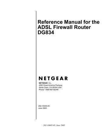 Netgear dg834g wpa setup configuration.