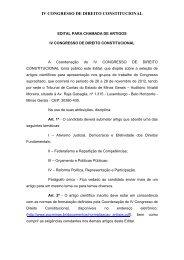 iv congresso de direito constitucional - Tribunal de Contas do ...