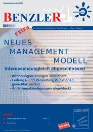 Sonder-BenzleR - IG Metall Gaggenau
