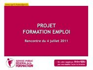 Le segment Certification - Centre Inffo