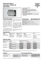 Solid State Relays Industrial, 3-Phase ZS Type RZ3A