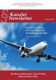Newsletter Kanzlei