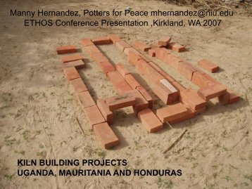 Kiln Building in Africa and Honduras - BioEnergy Discussion Lists
