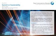 2013 Summit on Sustainability – Save the Date Postcard