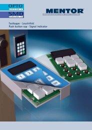 Leuchtfeld Push button cap - Macro Components sro