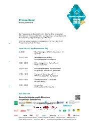 Pressedienst - MHMK Macromedia  Hochschule für Medien und ...