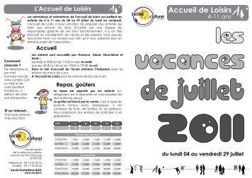 Accueil de Loisirs - ESCDD