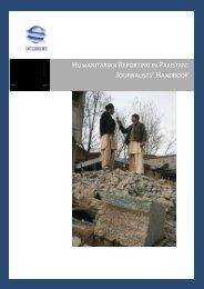 Humanitarian Reporting in Pakistan: - Internews