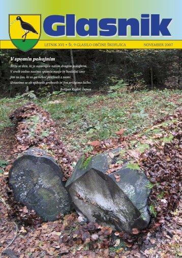 Glasnik november 2007 - Občina Škofljica