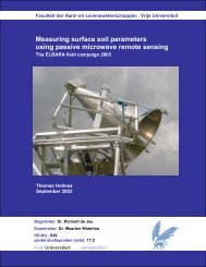Measuring surface soil parameters using passive ... - Falw.vu