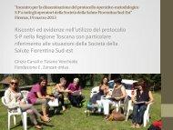 intervento C. Canali - Centro regionale di documentazione per l ...