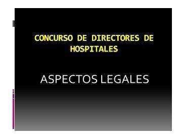 ASPECTOS LEGALES - FEPAS