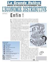 n° 974 - Association pour l'Économie Distributive