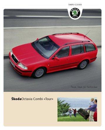 ŠkodaOctavia Combi «Tour» - Sprüngli Druck AG