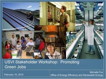 Promoting Green Jobs & Industries - Energy Development in Island ...