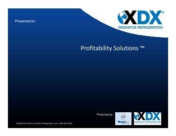 Profitability Solutions ™ - REEEP Toolkits