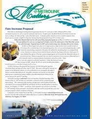 May - Metrolink